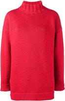 Alexander McQueen Slouchy oversized jumper - women - Cashmere - XXS