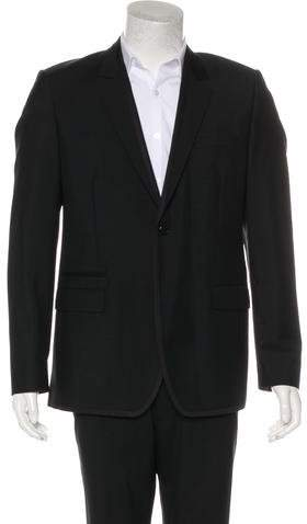 Givenchy Wool & Mohair Blazer