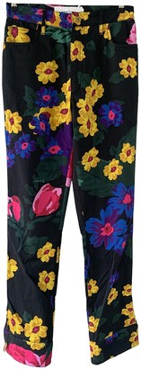 Marques Almeida Multicolour Cotton Trousers