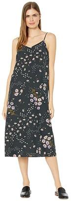 Madewell Printed Slip Dress (Printmix Floral Almost) Women's Dress