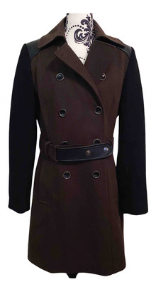 DKNY Green Wool Coats