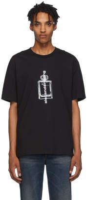 Alexander Wang Black Graphic T-Shirt