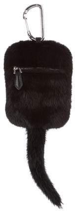 Givenchy Mink Fur Bag Charm