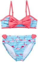 Jantzen Stripe Flamingo Bikini (Big Girls)