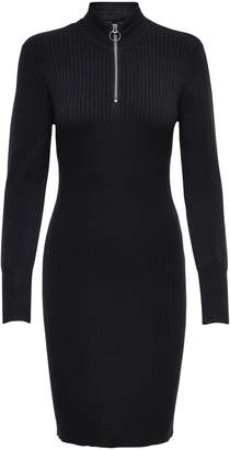 Only Half-Zip Sweater Dress