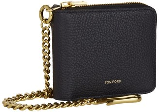 Tom Ford Leather Chain Wallet