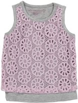 Design History Tank Top (Toddler/Kids) - Tickled Pink/Marble-6