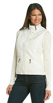 Relativity Casual Diamond Quilted Vest