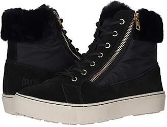 Cougar Dublin Waterproof (Black Suede/Nylon) Women's Lace-up Boots