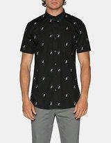 Tavik Men's Porter Palm Print Long Sleeve Woven Shirt