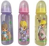 Precious Moments Luv n'Care BPA Free Feeding Bottles 3 8oz bottles