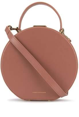 Tammy&Benjamin circle-shaped box bag