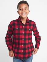 Gap Buffalo plaid flannel long sleeve shirt
