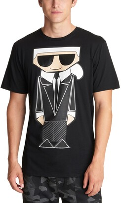 Karl Lagerfeld Paris Kocktail Graphic Tee