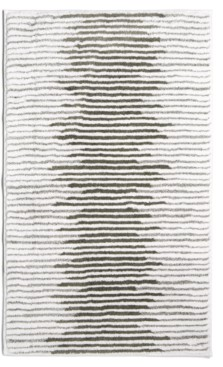 """Hotel Collection Textured Stripe Cotton 22"""" x 36"""" Bath Rug, Created for Macy's Bedding"""