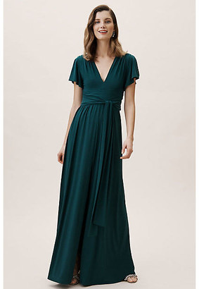 BHLDN Mendoza Dress By in Green Size 22