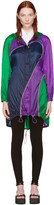 Versace Tricolor Nylon Parachute Parka