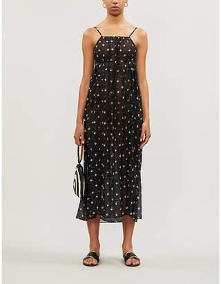 Rixo Misty floral-print cotton and silk-blend crepe maxi dress