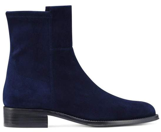 169aa62070 Navy Stretch Boots - ShopStyle