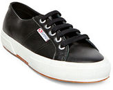 Superga Lace-Up Leather Sneakers