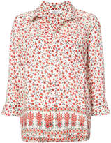Anine Bing Billie floral print blouse
