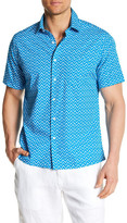 Toscano Short Sleeve Printed Regular Fit Shirt