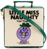 Olympia Le-Tan Little Miss Naughty shoulder bag - women - Cotton/Leather/Wool Felt/metal - One Size