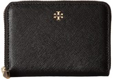 Tory Burch Robinson Zip Coin Case Coin Purse
