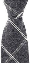 Original Penguin Fred Grid Skinny Cotton Tie
