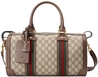 Gucci small Ophidia GG Web duffle bag
