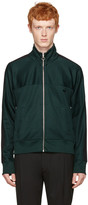 Ami Alexandre Mattiussi Green Track Zip-up Pullover