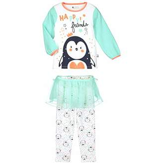 Camilla And Marc Little Pingou Girls' Long-Sleeved Pyjamas - Size 6/8 Years (116/128 cm)