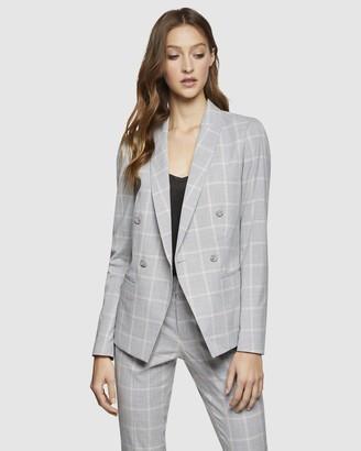 Oxford Camilla Check Suit Jacket