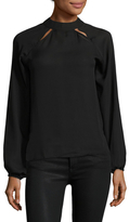Lucca Couture Riley Solid Shirt