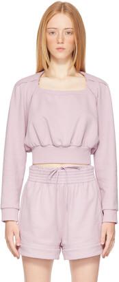 3.1 Phillip Lim Purple Square Neck Sweatshirt