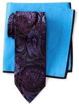 Ted Baker Lattice Paisley Silk Tie