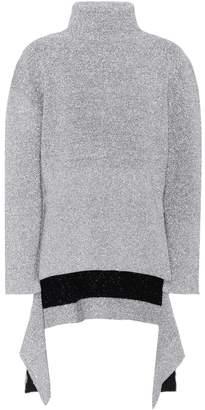 Balenciaga Metallic turtleneck sweater