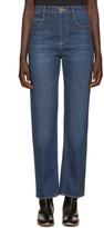 Chloé Blue Straight-leg Jeans