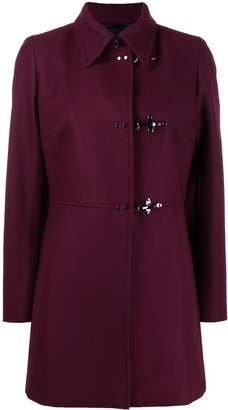 Fay side buckle coat