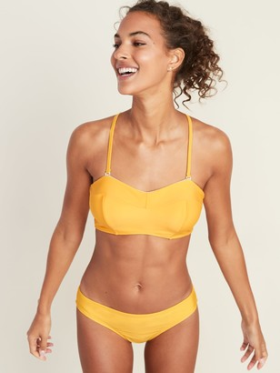 Old Navy Convertible Bandeau Underwire Swim Top for Women