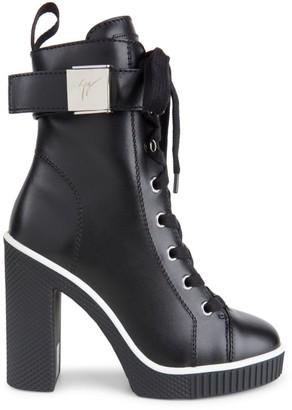 Giuseppe Zanotti Leather Platform Boots