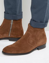 Paul Smith Mulder Suede Zip Boots