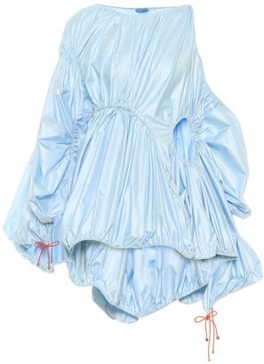 Thierry Mugler Gathered minidress