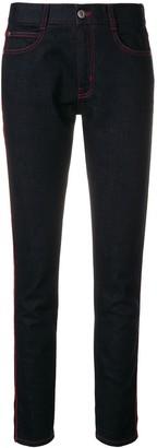 Stella McCartney Cropped Turn Up Hem Jeans