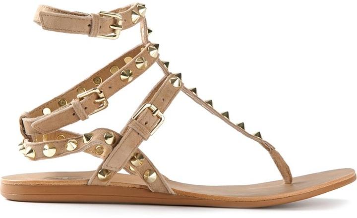 Ash embellished stud sandals
