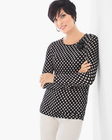 Chico's Unique Dots Karina Tee