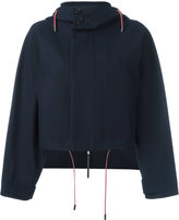 Marni cropped hooded jacket - women - Cotton - 40