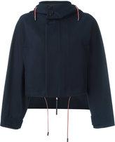 Marni cropped hooded jacket - women - Cotton - 42