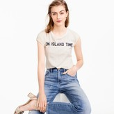 "J.Crew ""On island time"" T-shirt"