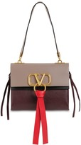 Valentino Garavani SM V RING BOX LEATHER SHOULDER BAG